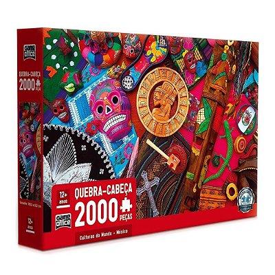 Quebra Cabeça Culturas do Mundo - México - 2000 peças - Toyster