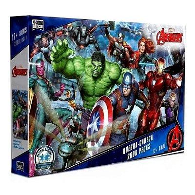Quebra-Cabeça Avengers - 2000 peças - Toyster