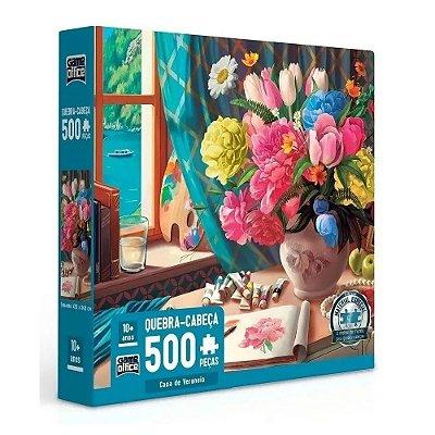 Quebra Cabeça Casa de Veraneio - 500 peças - Toyster