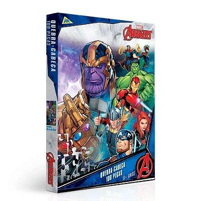 Quebra-Cabeça Avengers - 100 peças - Toyster