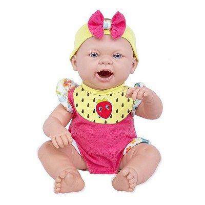 Boneca Reborn Baby Ninos - Hora do Lanche - Cotiplás
