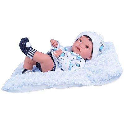 Boneca Anny Doll Baby Reborn - Menino - Cotiplás