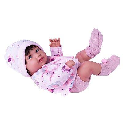 Boneca Anny Doll Baby Reborn - Menina - Cotiplás