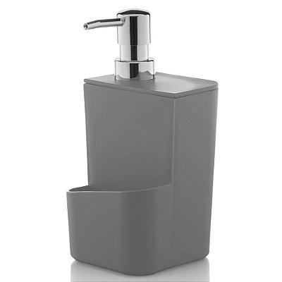 Dispenser de Detergente 650ml - Cinza - Ou