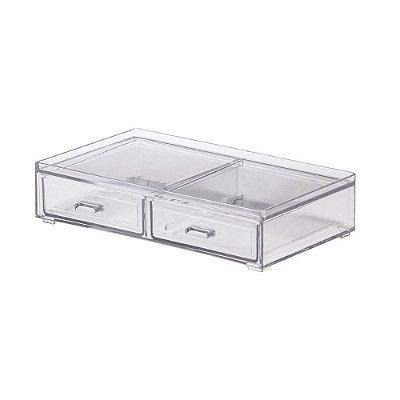 Caixa Organizadora Pequena Com 2 Gavetas Elegance - Paramount