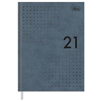 Agenda Diária Prátika Costurada 2021 - Cinza - Tilibra