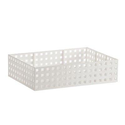 Organizador Empilhável Quadratta - Branco - Paramount