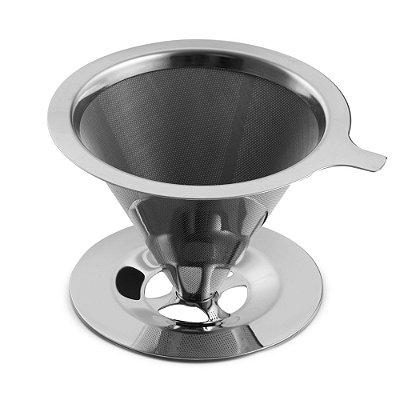 Filtro de Café Reutilizável em Inox - Mimo Style