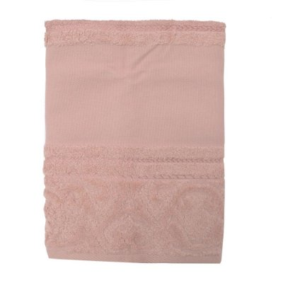 Toalha de Rosto para Pintar Softart - Rosa 11033 - Döhler