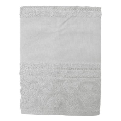 Toalha de Rosto para Pintar Softart - Cinza 11467 - Döhler
