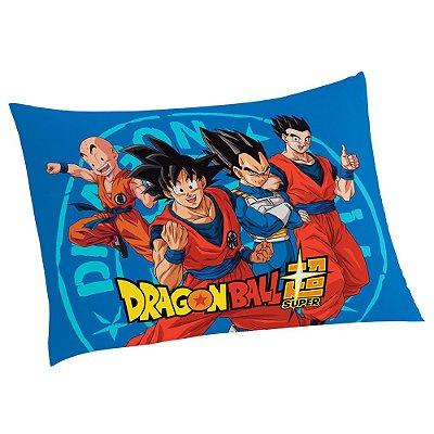 Fronha Avulsa Estampada - Dragon Ball Super - Lepper