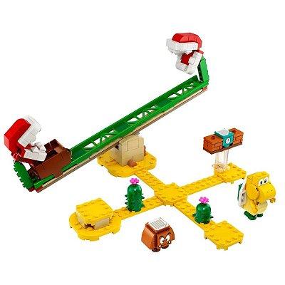 Lego Super Mario - Derrapagem da Planta Piranha - Pacote de Expansão - Lego