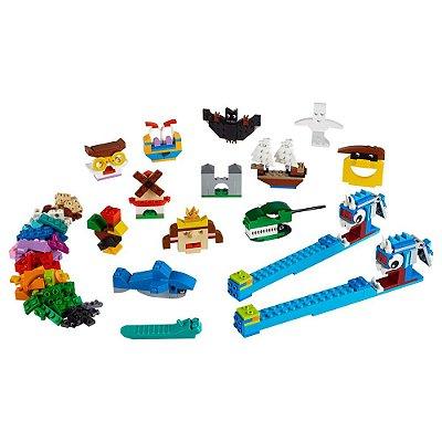 Lego Classic Peças e Luzes - Lego