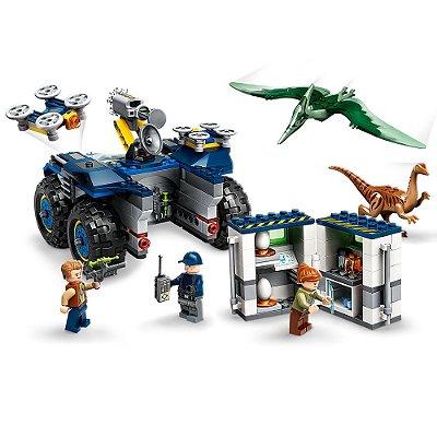 Lego Jurassic World - Fuga de Gallimimus e Pteranodonte - Lego
