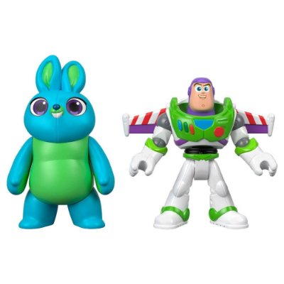 Imaginext Toy Story 4 - Bunny e Buzz Lightyear - Fisher-Price
