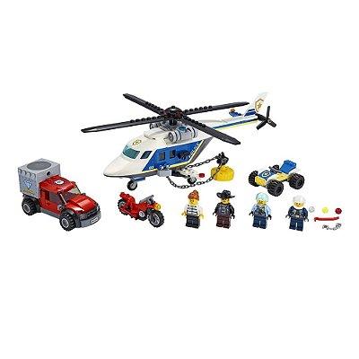 Lego City - Perseguição Policial de Helicóptero Lego