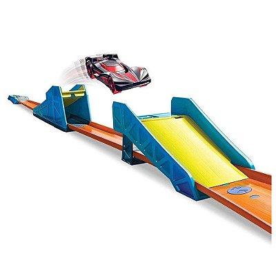 Conjunto Hot Wheels - Track Builder Salto Longo - Mattel