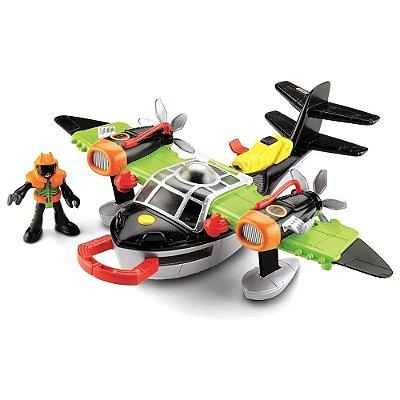 Imaginext Helicóptero Escorpião dos Ventos - Fisher Price