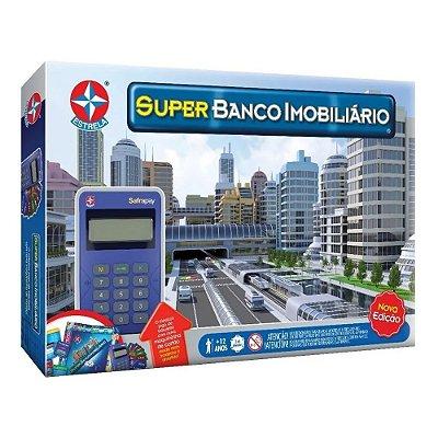 Jogo Super Banco Imobiliário Máquina De Cartão - Nova Edição - Estrela