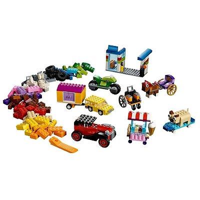 Lego Classic - Peças Sobre Rodas - Lego