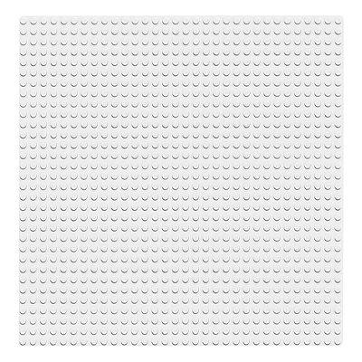 Lego Classic - Base Branca - 1 peça - Lego