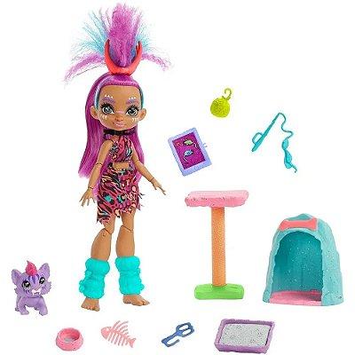 Boneca Articulada Cave Club Roaralai Ferrell - Mattel