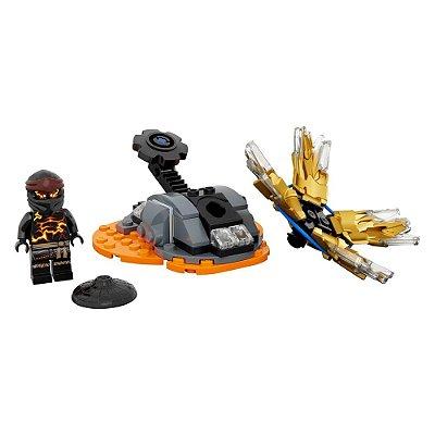 Lego Ninjago - Rajada de Spinjitzu Cole - Lego