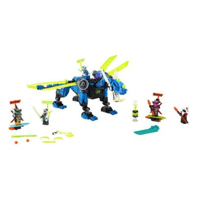 LEGO Ninjago - O Ciber dragão do Jay - Lego