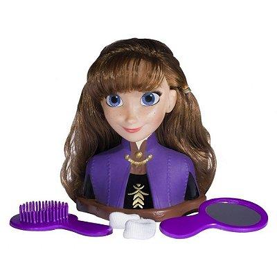 Boneca Styling Heads Frozen II - Anna - Baby Brink