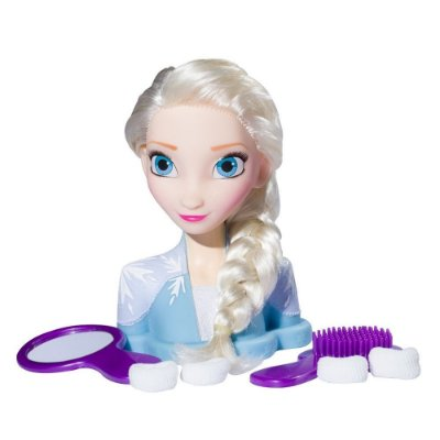 Boneca Styling Heads Frozen II - Elsa - Baby Brink