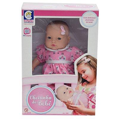 Boneca Cheirinho de Bebê Ovelhinhas - Cotiplás