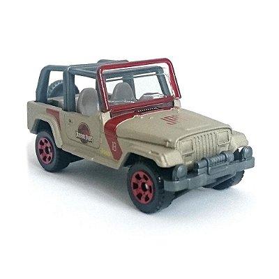 Carrinho Matchbox Jurassic World - 93 Jeep - Mattel