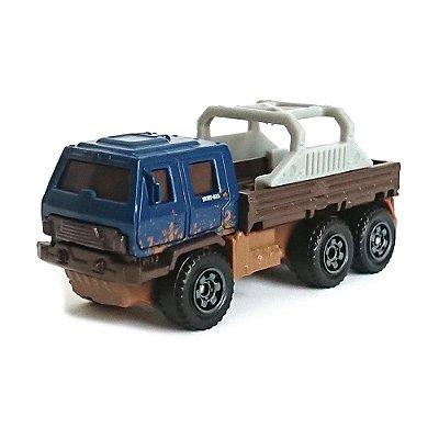 Carrinho Matchbox Jurassic World - Veiculo de Resgate Off-Road - Mattel