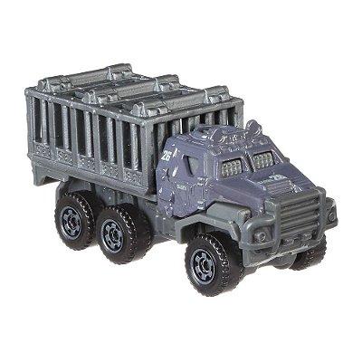 Carrinho Matchbox Jurassic World - Transportador Equipado - Mattel