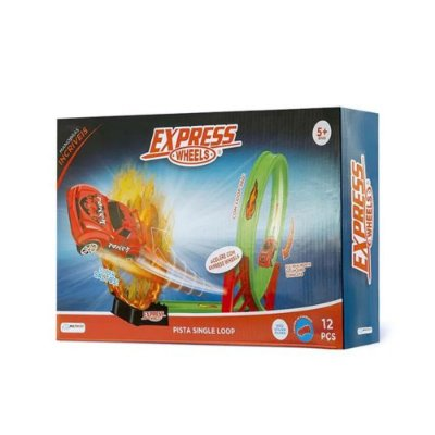 Pista de Corrida Single Loop 360º  - Express Wheels  - Multikids