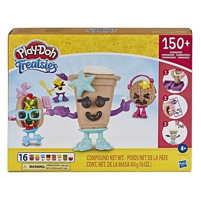 Massinha Play Doh Treatsies - 150 Combinações Comidinhas - Hasbro