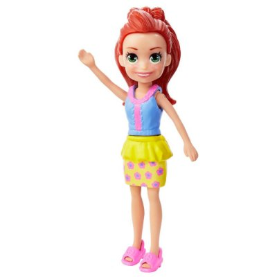 Polly Pocket - Lila - Blusa Lilás e Saia Amarela - Mattel