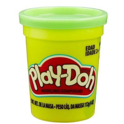 Massinha Play Doh Individual - Verde Claro - Hasbro