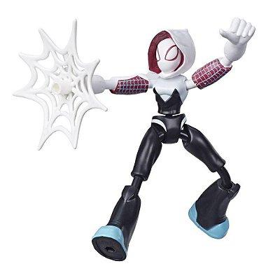 Boneco Bend And Flex - Ghost-Spider - Hasbro