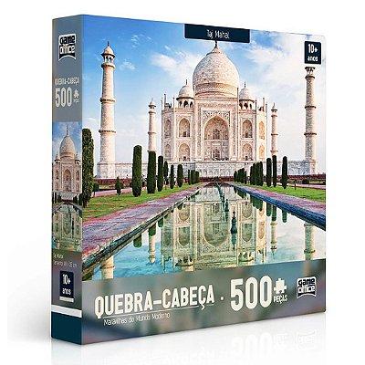 Quebra-cabeça Taj Mahal - 500 peças - Toyster