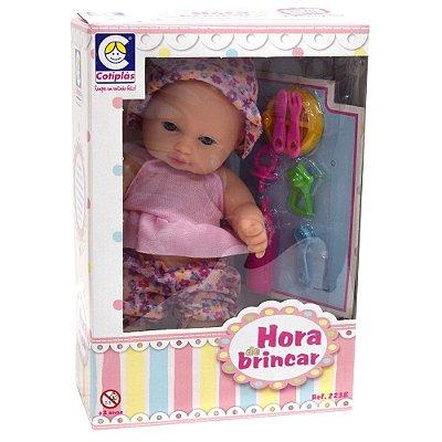 Boneca Hora de Brincar - Comidinha - Cotiplás
