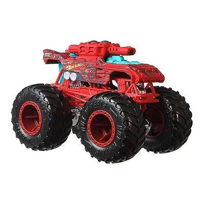 Hot Wheels Monster Trucks Invader - Stealth Smashers - Mattel