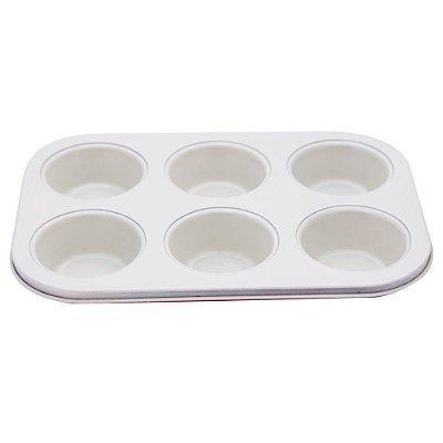 Forma para 6 cupcakes Bicolor - Bege - Mimo Style