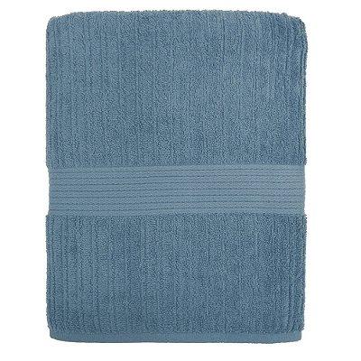 Toalha de Banho Gigante Canelada Fio Penteado - Azul 1659 - Buddemeyer