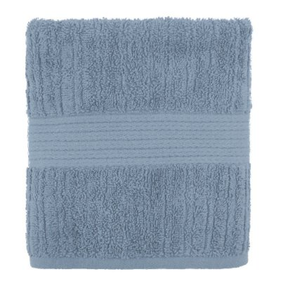 Toalha de Rosto Canelada Fio Penteado - Azul 1659 - Buddemeyer