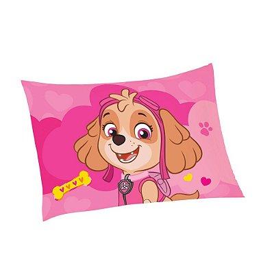 Fronha Avulsa Infantil Patrulha Canina Skye - Lepper