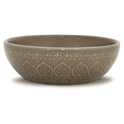 Bowl Relieve 523ml - Marrom - Lyor