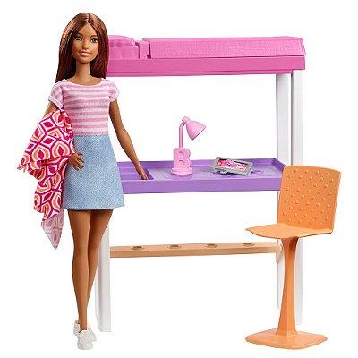 Barbie Móveis Para o Quarto e Escritório - Mattel