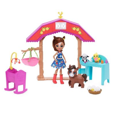 Enchantimals Aventuras na Fazenda - Haydie Horse e Trotter - Mattel