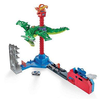 Hot Wheels Ataque Aéreo do Dragão - Mattel